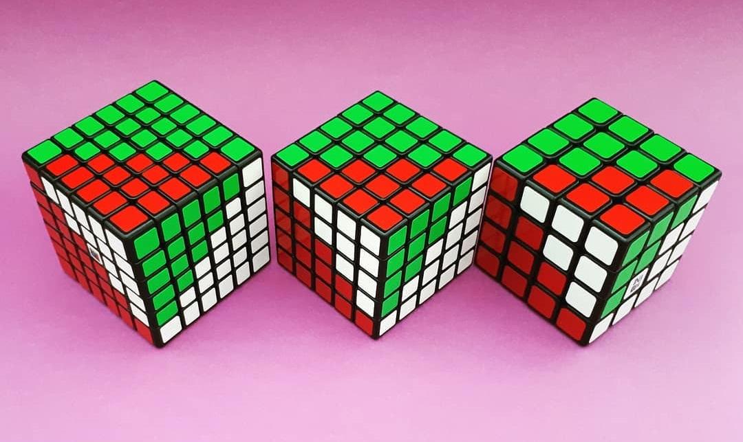 Cubo Mágico 4x4 5x5 6x6