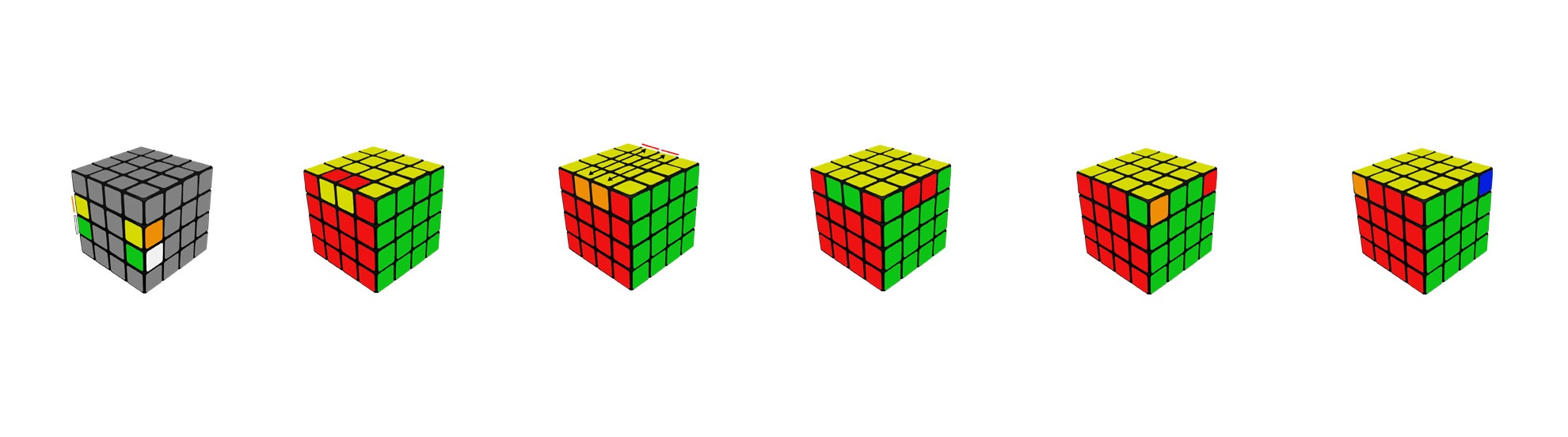 4x4 paridades