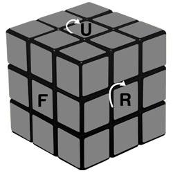 Cubo Mágico com figuras