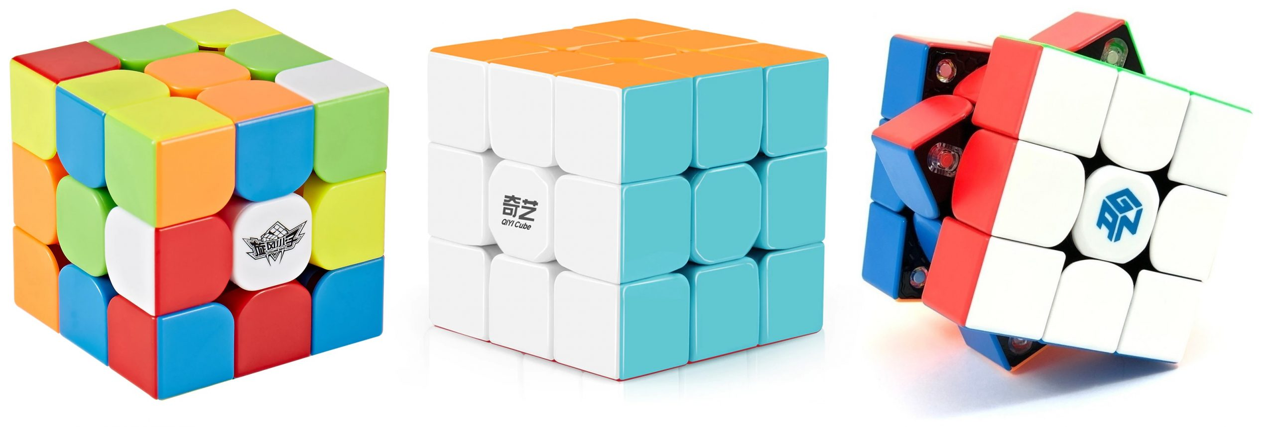 Diferença entre os tipos de cubos