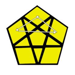 Megaminx permutar cantos