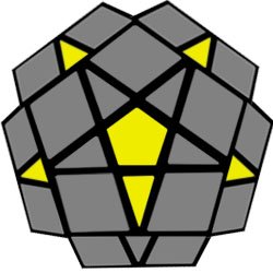 Megaminx orientar meios