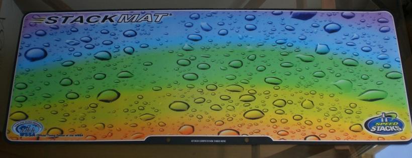 Tapete para cronômetro Stackmat II (raindrop)