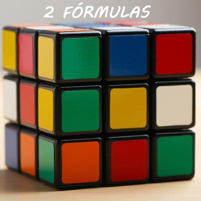 2 fórmulas