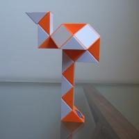 Flamingo Rubik's Twist