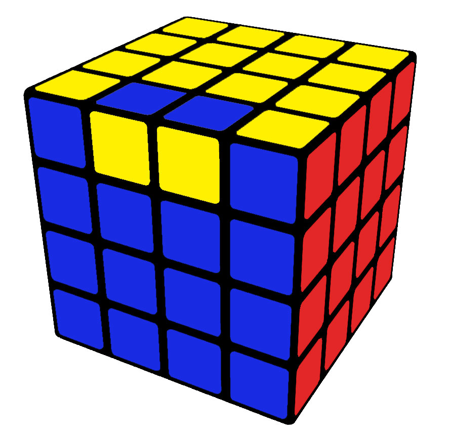 Paridade OLL 4x4